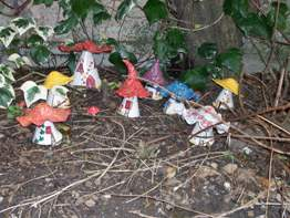 Ceramic Fairy Houses
